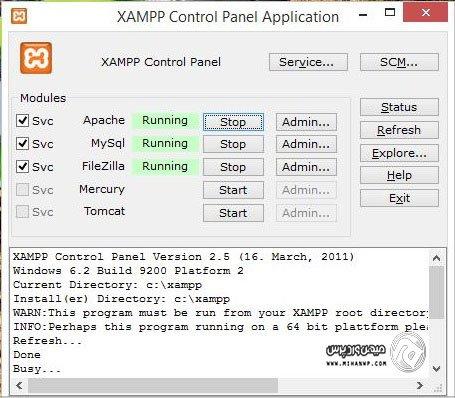 آموزش نصب وردپرس در لوکال هاست xampp