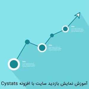 پلاگین بازدید سایت وردپرس CyStats