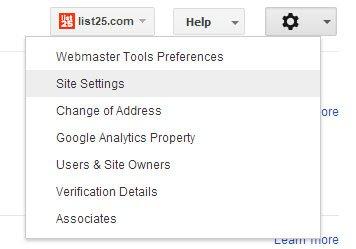 webmastersitesettings