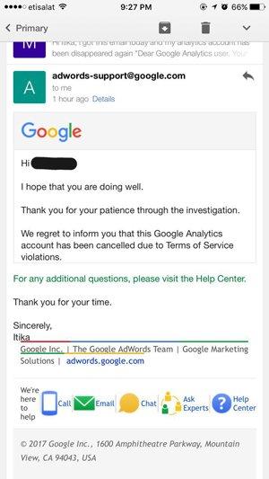 ایمیل گوگل برای ایرانیان