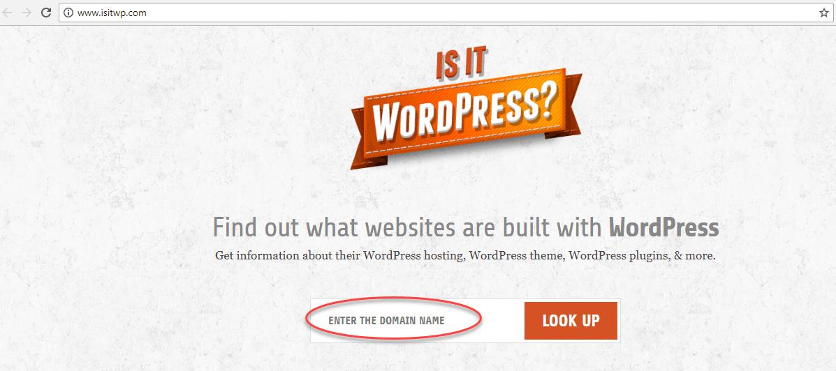 وارد شدن به سایت isitwp