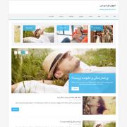 قالب وردپرس Mh Edition Lite فارسی
