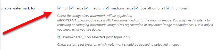 تعیین سایز تصاویر