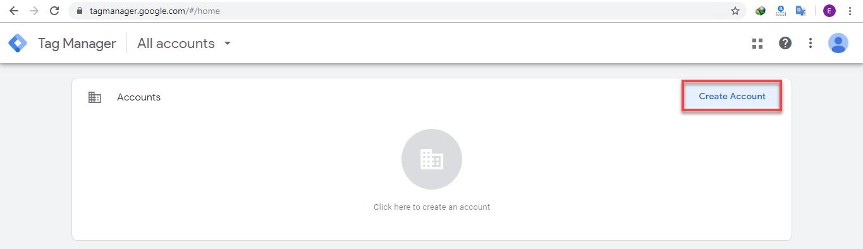ثبتنام در Google Tag Manager