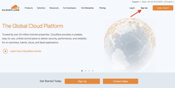 نصب Cloudflare روی سایت شما