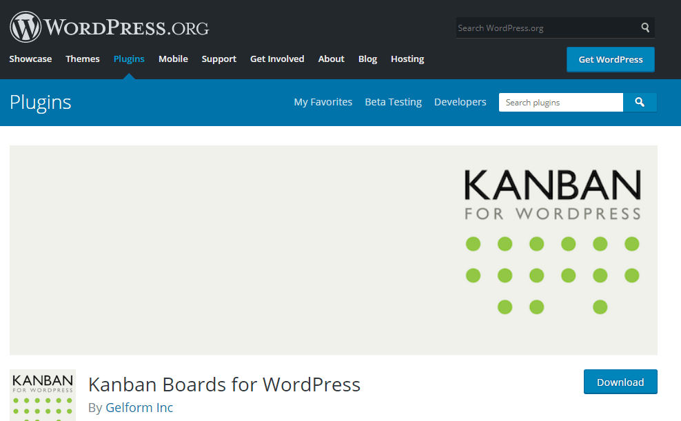 پلاگین Kanban Boards for WordPress