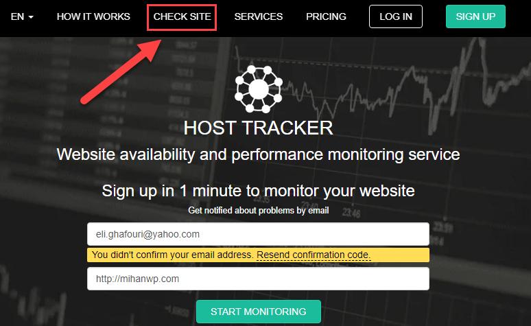 سایت Host Tracke