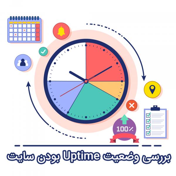 بررسی وضعیت Uptime سایت