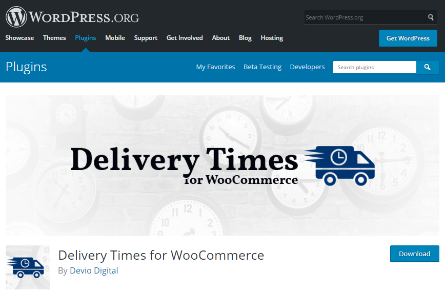 معرفی پلاگین Delivery Times for WooCommerce