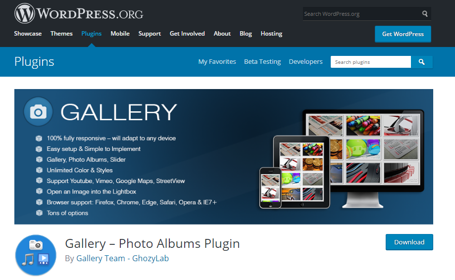 پلاگین Easy Media Gallery