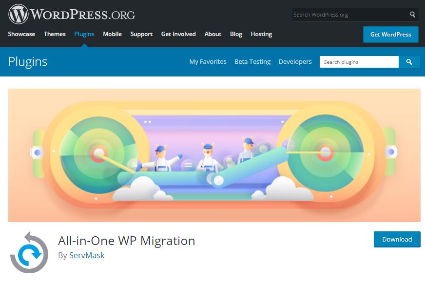 معرفی افزونه All-in-One WP Migration