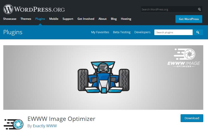 پلاگین EWWW Image Optimizer