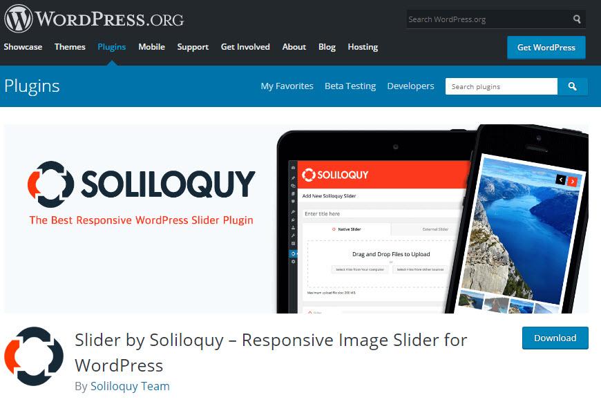 پلاگین Soliloquy