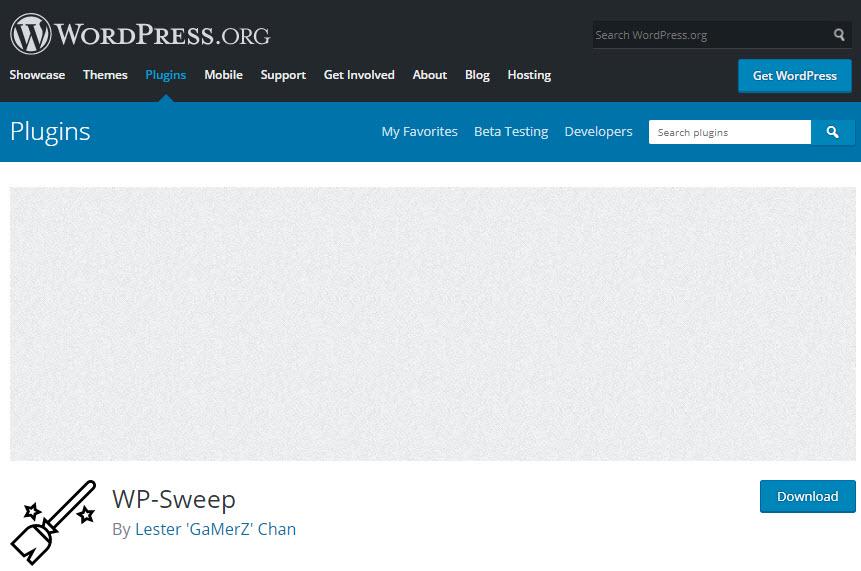 افزونه WP-Sweep