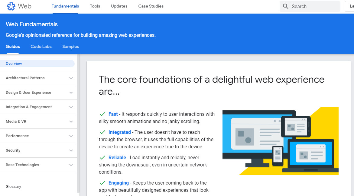 Web Fundamentals by Google