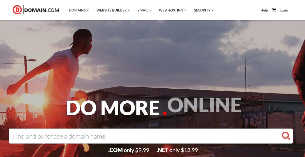 وبسایت Domain
