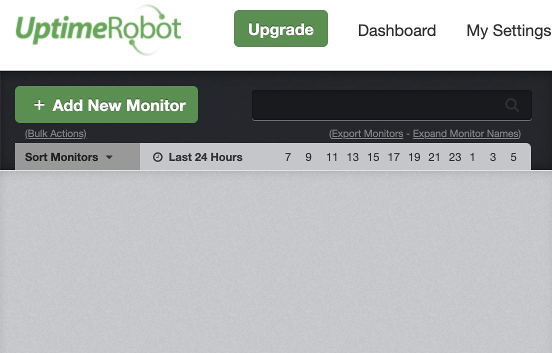 افزودن سایت به آپتایم روبوت