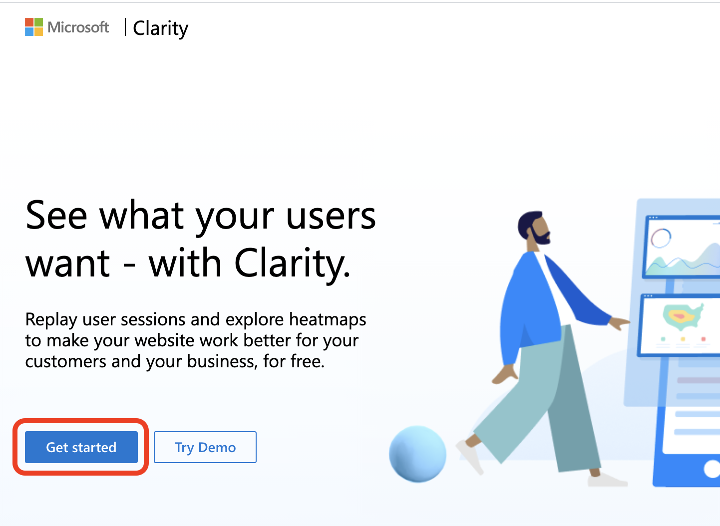 Microsoft Clarity Signup