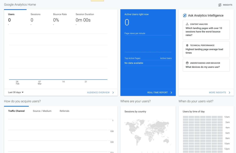 گوگل آنالیتیکس (بهترین سرویس آمارگیری سایت)