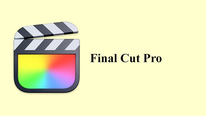نرمافزار Final Cut Pro