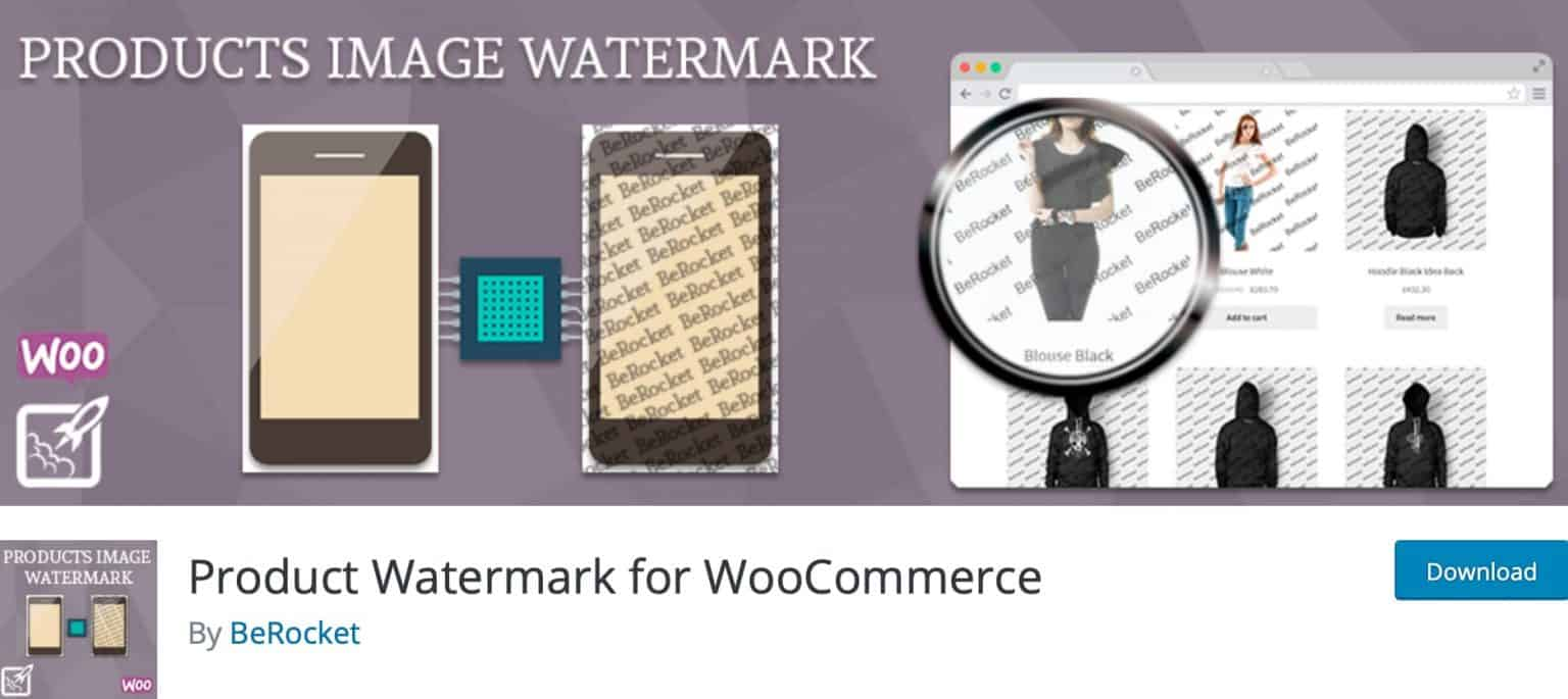 افزونه Product Watermark for WooCommerce