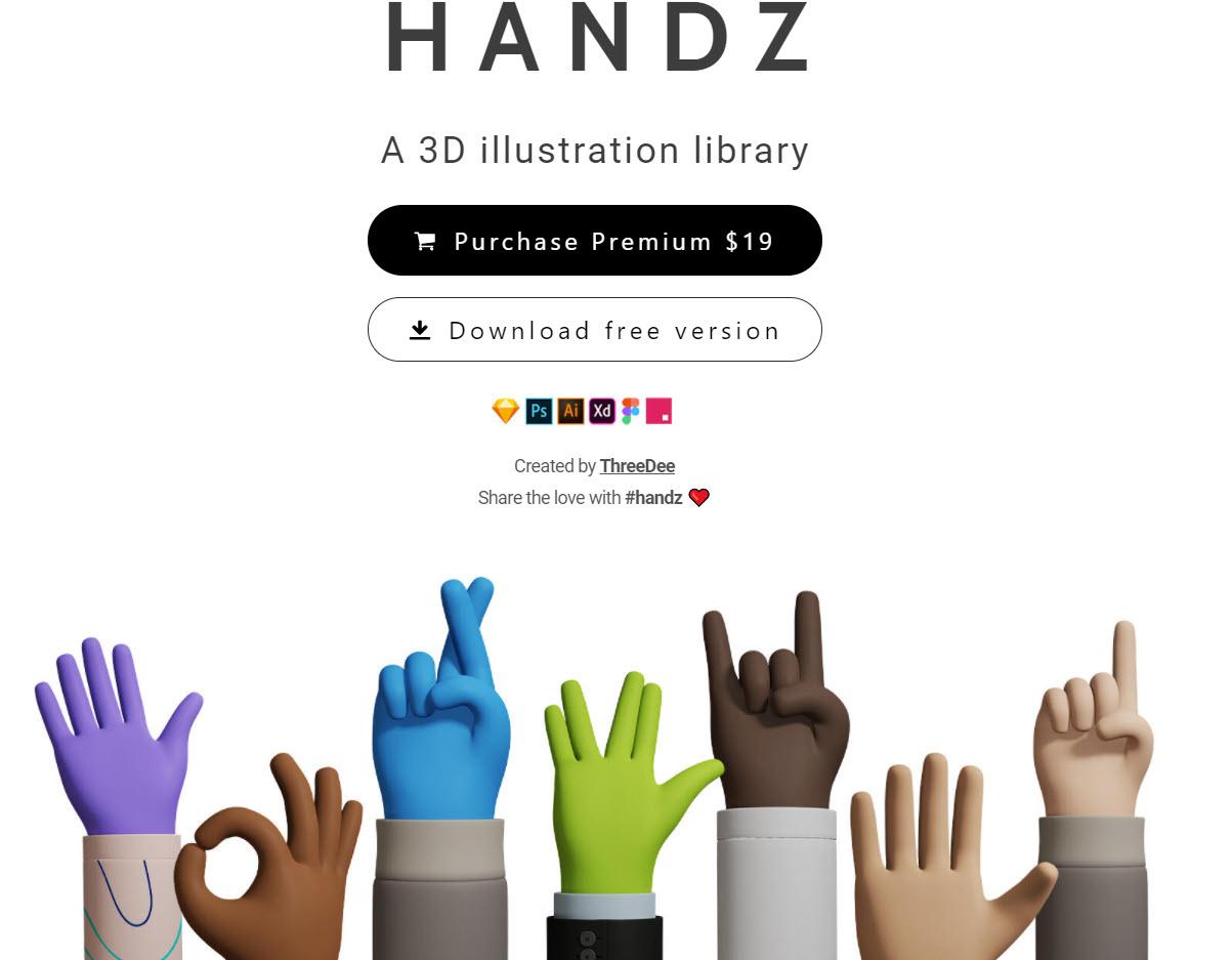 سایت Handz.design