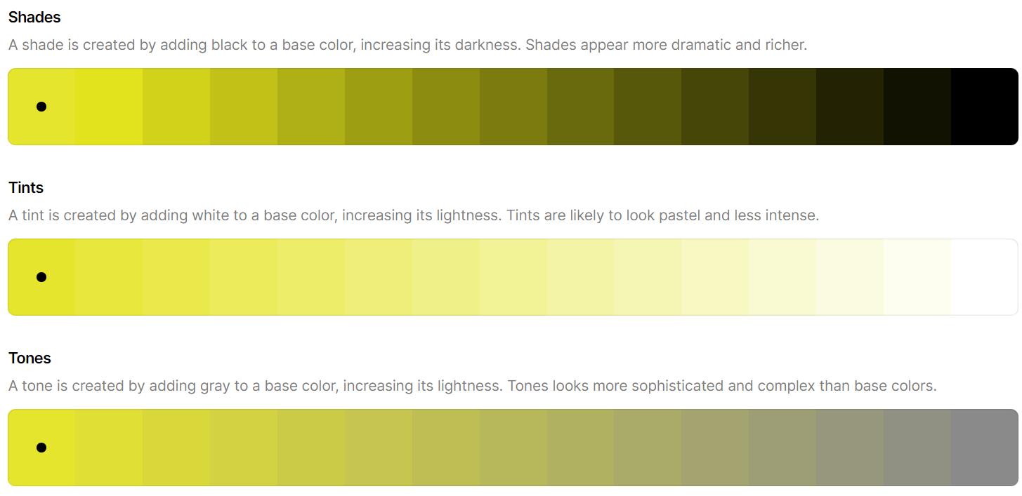 رنگ سازمانی زرد